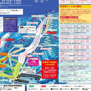 八海山コースマップ